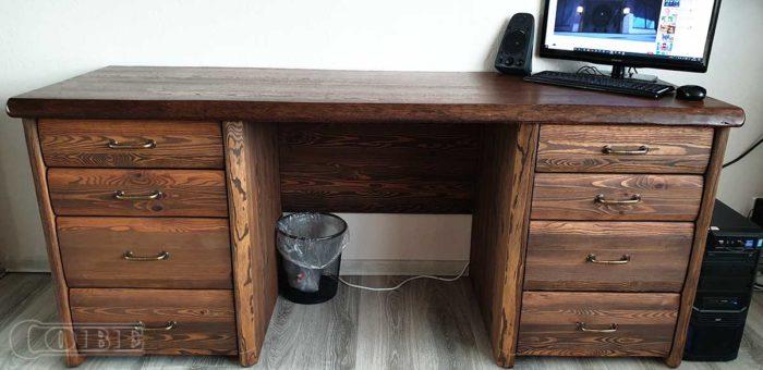 täispuidust kirjutuslaud puitmööbel tammeplaat tammepuidust kirjutus laud