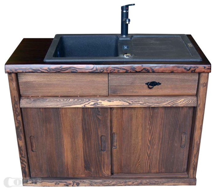 Täispuidust köögimööbel köögikapid puitmööbel