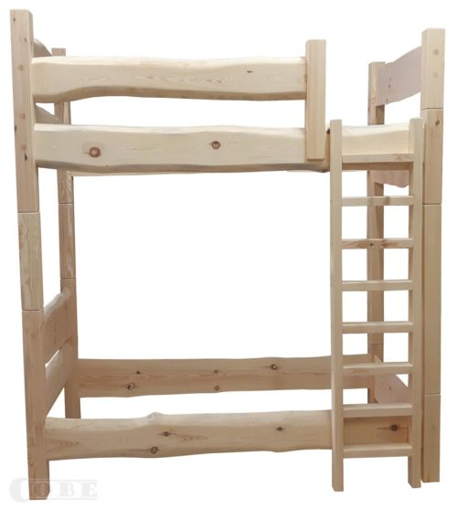 Täispuit narivoodi massiiv puitmööbel täispuidust laste voodi puidust kahekorruseline voodikarkass vanutatud narivoodi