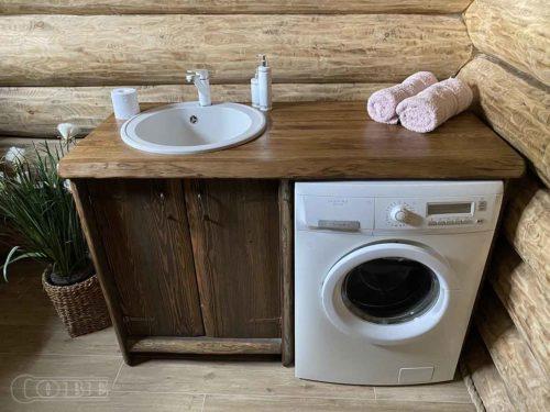 Vannitoa mööbel vannitoa kapid valamukapp täispuidust kapp puitmööbel