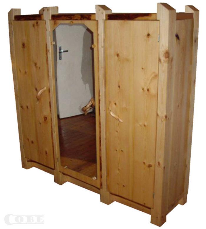 Täispuidust riidekapp puitmööbel täispuit kapp puidust riidekapid