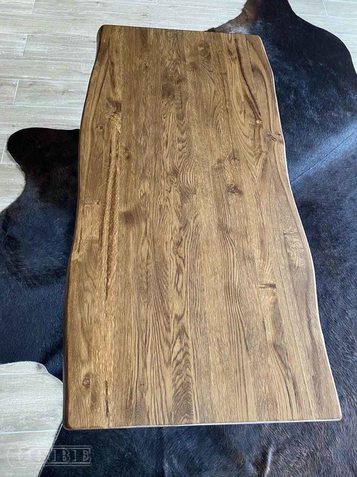 Täispuit laud puitmööbel söögilaud täispuidust tamme puidust köögilaud diivanilaud